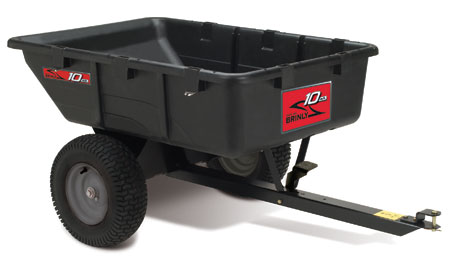 ATV poly utility dump cart