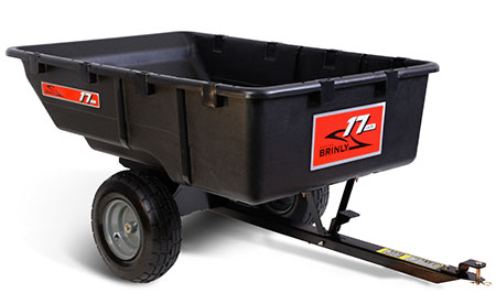 poly utility trailer attachment