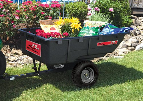 PCT17BH Outside - 17 Cu. Ft. Poly Cart <span>|</span> PCT-17BH