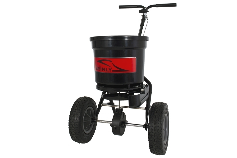 P20 500BH with Deflector Main Front Left  - 50 lb. Push Spreader with Deflector Kit | P20-500BHDF