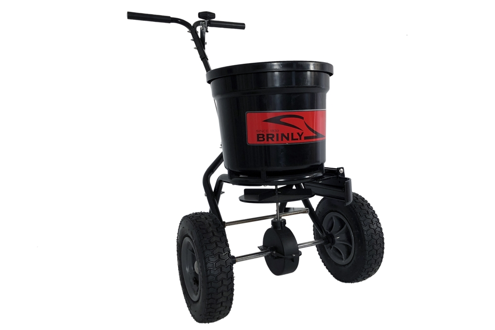 P20 500BH with Deflector Main Front Right - 50 lb. Push Spreader with Deflector Kit | P20-500BHDF