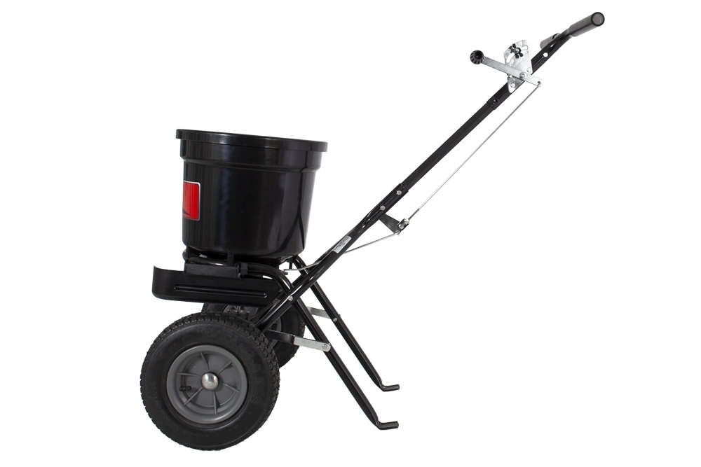 P20 500BH with Deflector Main Side View - 50 lb. Push Spreader with Deflector Kit | P20-500BHDF