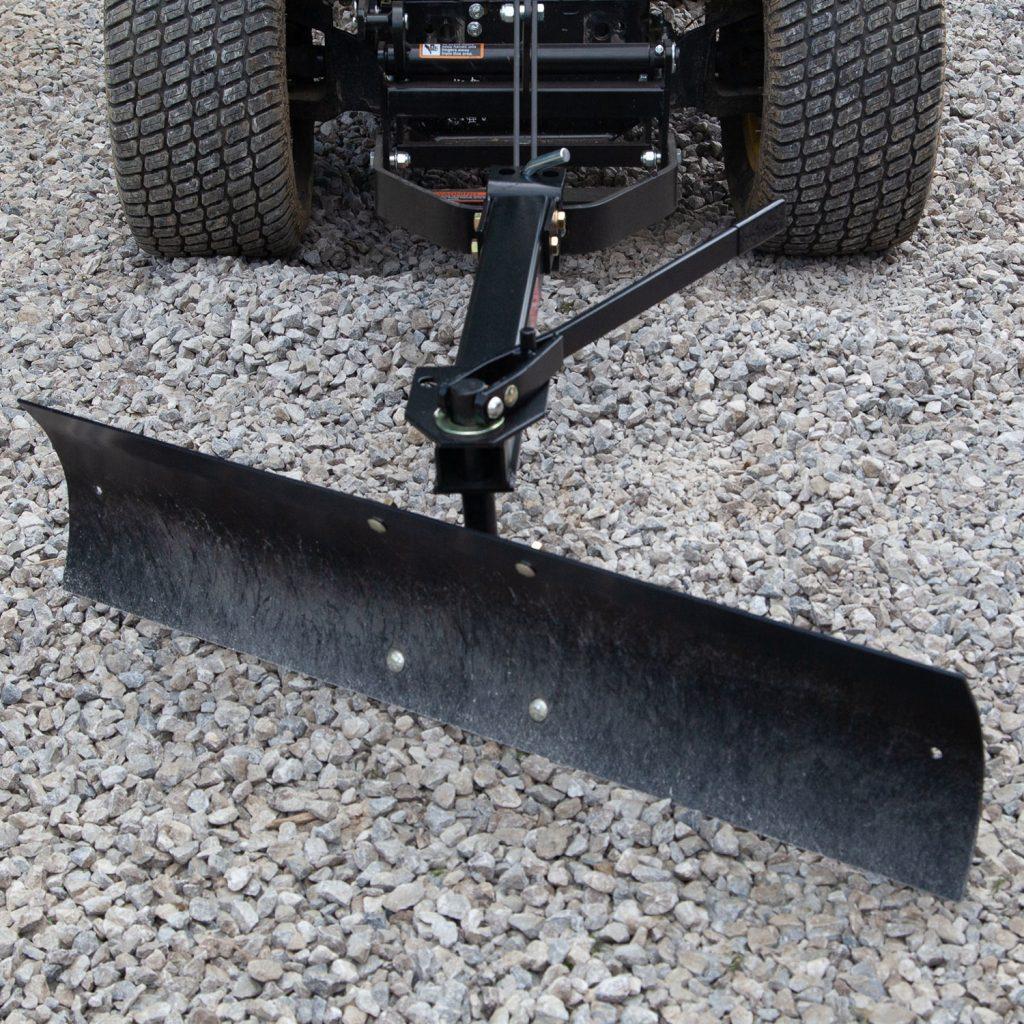 rear blade gravel grading