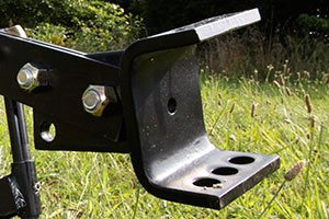 sleeve hitch for plow