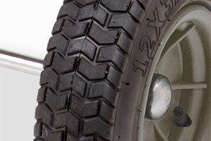 pneumatic turf tread wheels