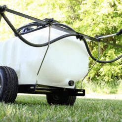 25 gallon tow sprayer with extendable booms