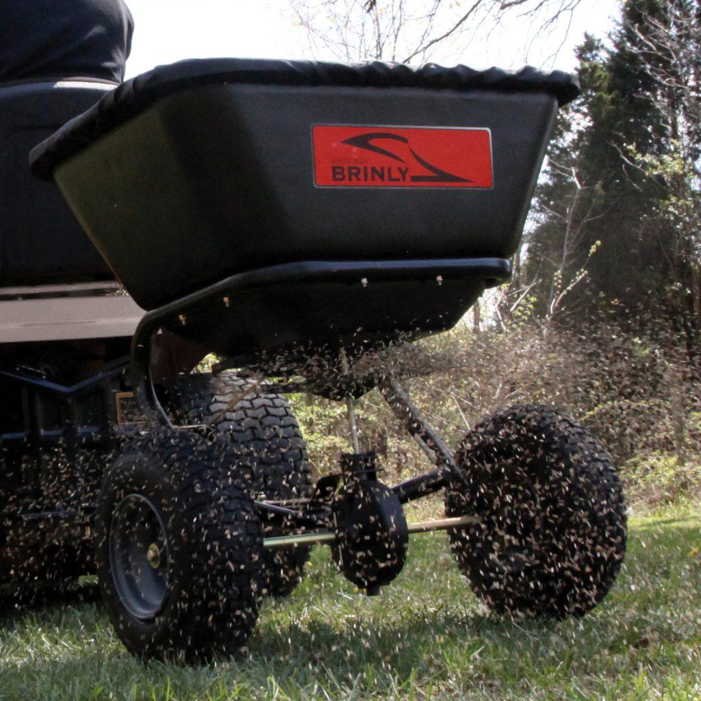spreading fertilizer tow spreader