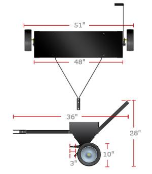 plug aerator product dimensions