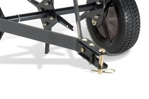 tow bar with hitch pin