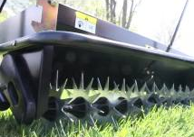 steel spikes aerator