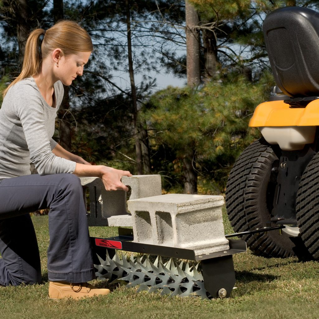 adding weight to sa-40bh spike aerator by brinly