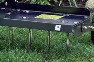 dethatcher tray close up