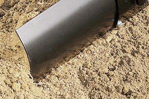 rear blade dirt