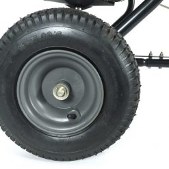 pneumatic traction wheels tow spreader
