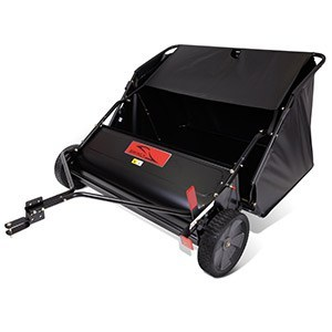 lawn sweeper tow