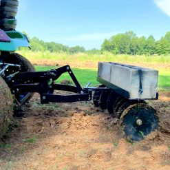 brinly disc harrows towed by sleeve hitch