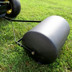 Brinly 28 gallon roller towed by tractor