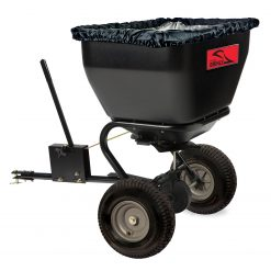 Brinly 175 tow spreader facing right