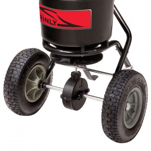 brinly push spreader wheels