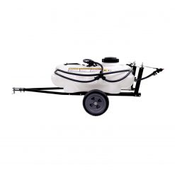 brinly tow lawn sprayer facing left