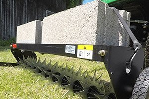 spike aerator cement weight tray