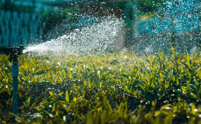yard irrigation systems