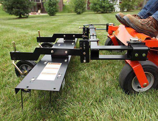 "48"" ZTR Dethatcher   DTZ-48BH   Brinly-Hardy Lawn and Garden"